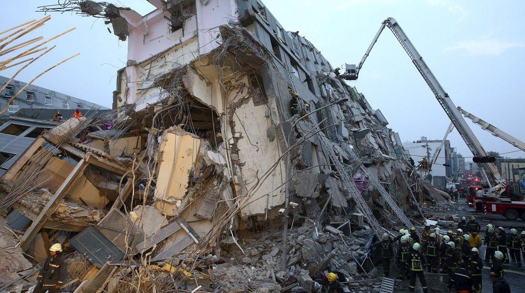 KDEI Kirim Tim ke Pusat Gempa Taiwan, Belum Ada Laporan WNI Jadi Korban