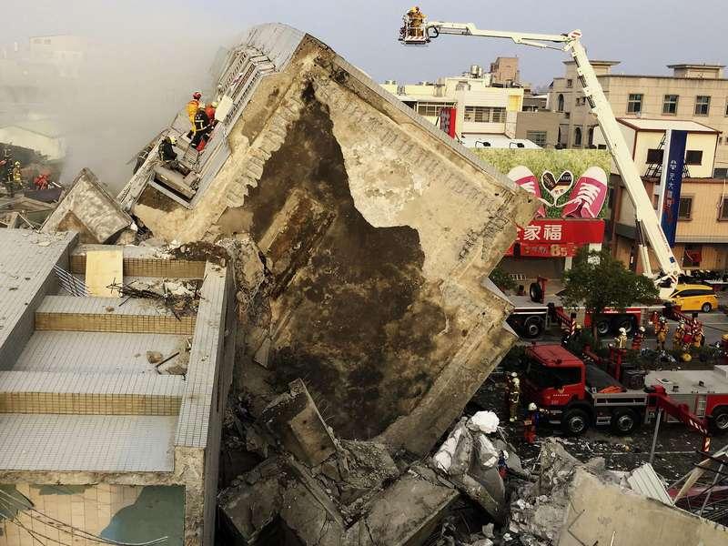 Korban Gempa Taiwan Bertambah Jadi 13 Orang