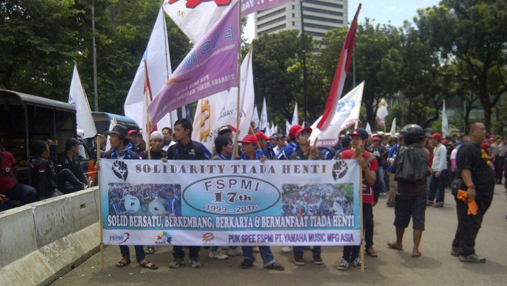 Usai Orasi Said Iqbal di Istana, Buruh Bergeser ke Kelapa Gading