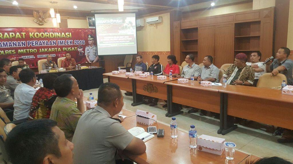 Jelang Perayaan Imlek, Pengamanan 27 Vihara di Jakarta Pusat Diperketat