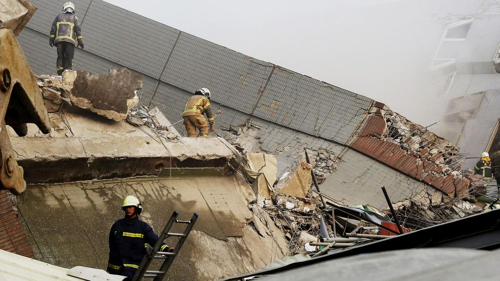Menlu: 8 RS Disisir, Tak Ada WNI Jadi Korban Meninggal Akibat Gempa Taiwan