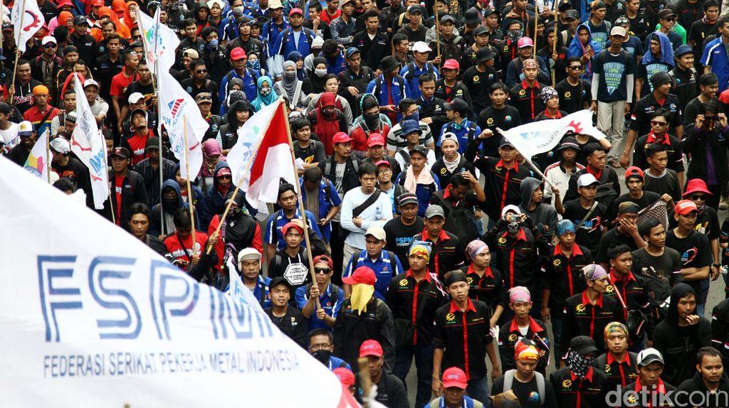 Ribuan Buruh Akan Demo di Jakarta Kamis Ini, Polisi: Tak Ada Sweeping
