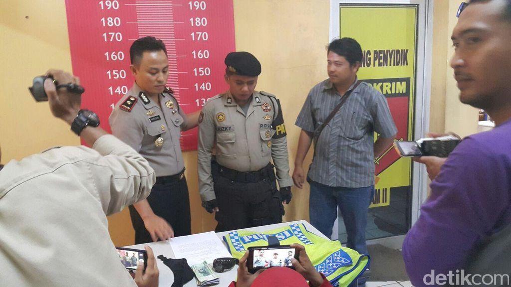 Sering Memalak Sopir Truk di Tangerang, Polisi Gadungan ini Dibekuk