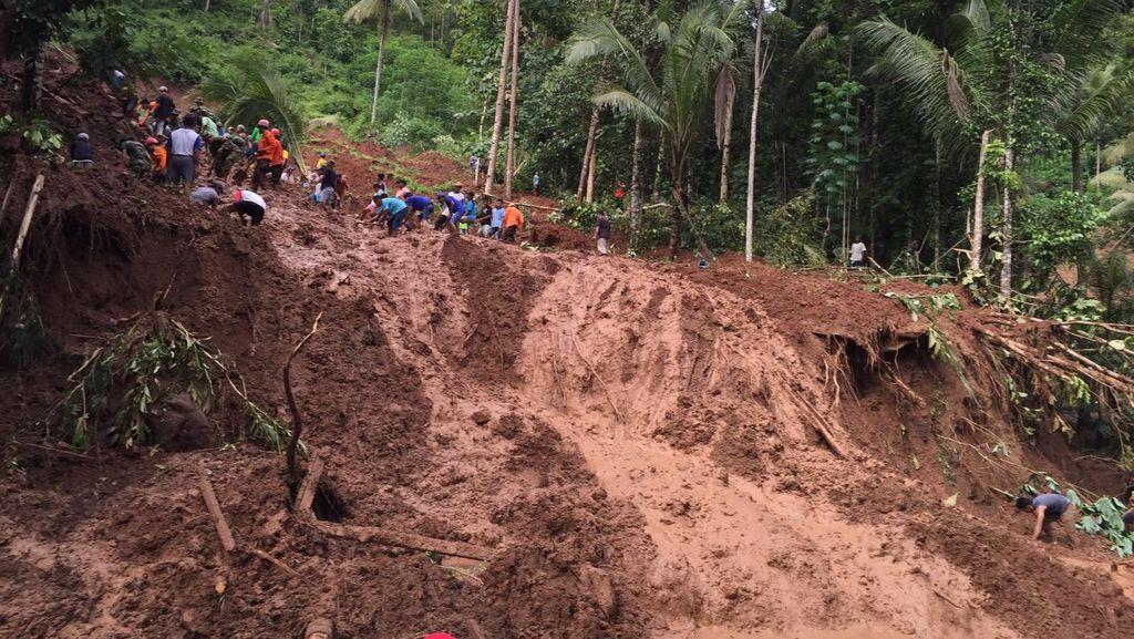 BNPB: 2 Korban Longsor di Purworejo Ditemukan, Total 7 Orang Tewas