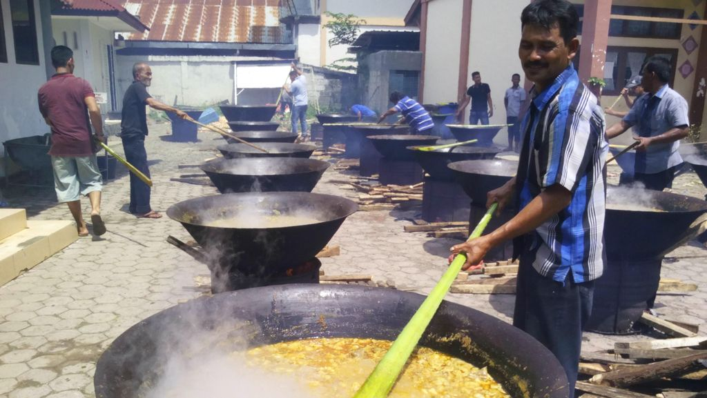 Meuripee, Tradisi Patungan Warga Banda Aceh Rayakan Maulid Nabi