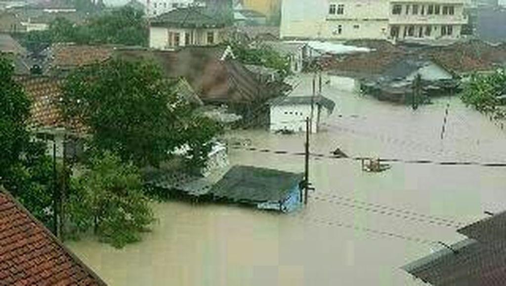 Banjir di Bangka, Sriwijaya Air Gratiskan Angkutan Barang Bantuan Bencana