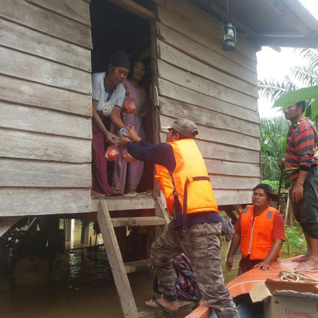 BNPB Akui Kesulitan Evakuasi Korban Banjir di Pedalaman