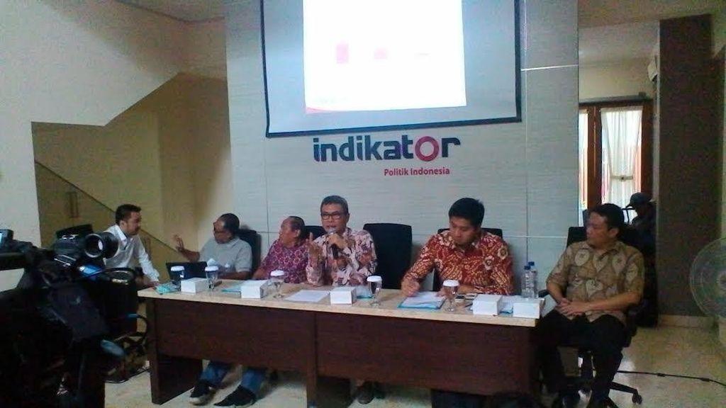 Survei Indikator: Mayoritas Masyarakat Puas dengan Kinerja Jokowi