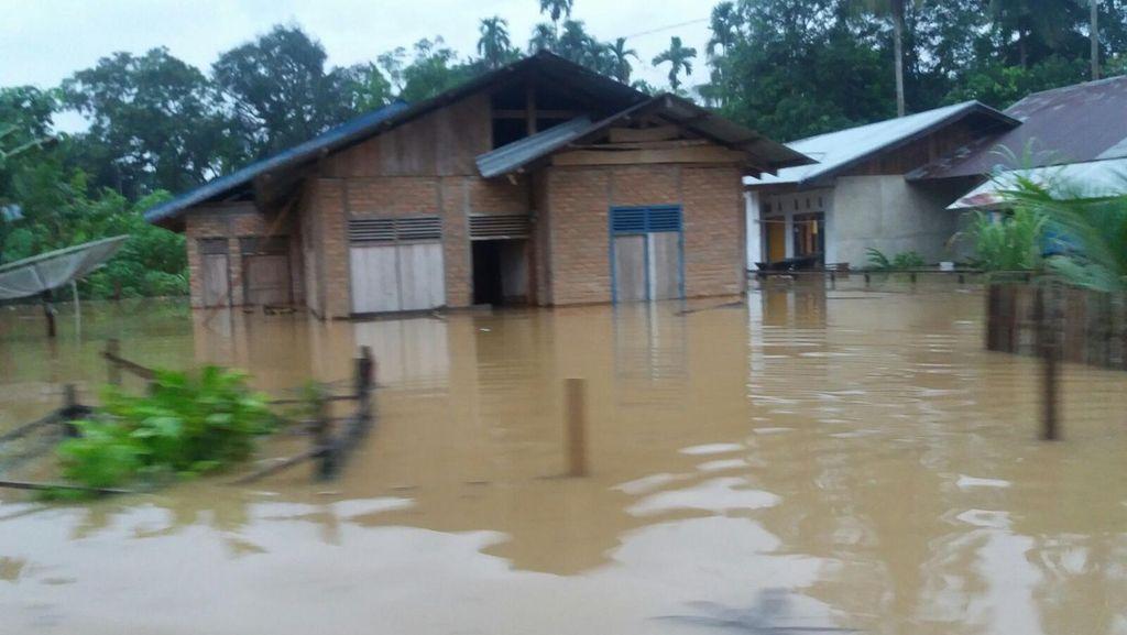 Dua Kabupaten di Aceh Direndam Banjir, 4 Ribu Warga Mengungsi