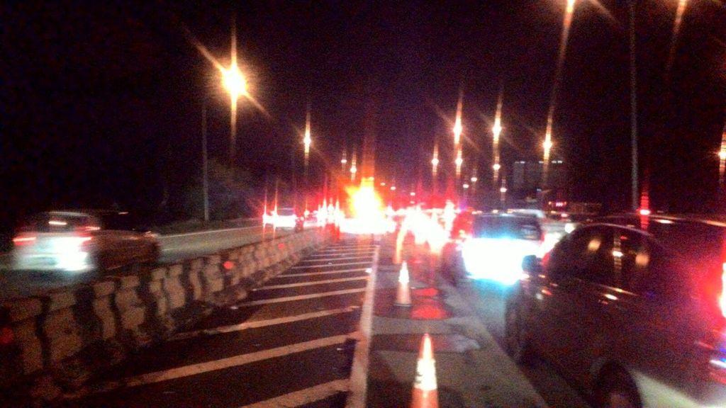 Polisi: Macet di Tol Cikampek Mulai Terurai, Kecepatan 40-60 Km per Jam