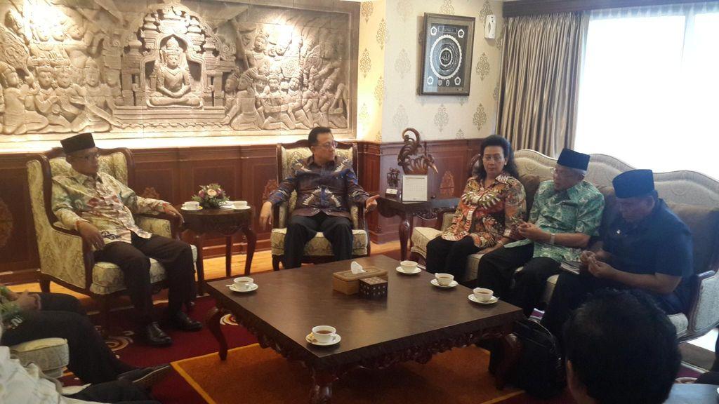 Disambangi PP Muhammadiyah, Irman Gusman dkk Curhat Soal PKB