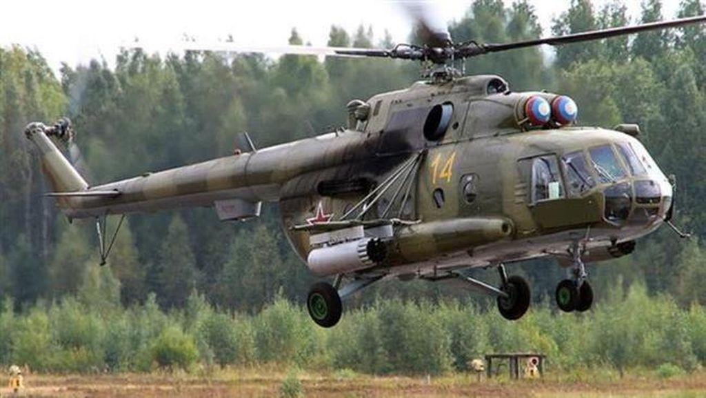 Helikopter Militer Rusia Jatuh, 4 Orang Tewas