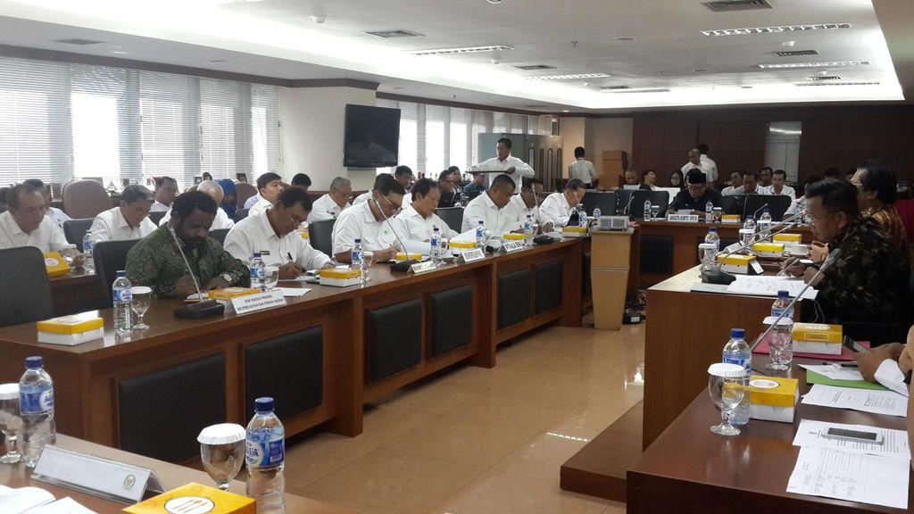 Bahas Papua, Menko Polhukam dan KaBIN Rapat dengan DPD