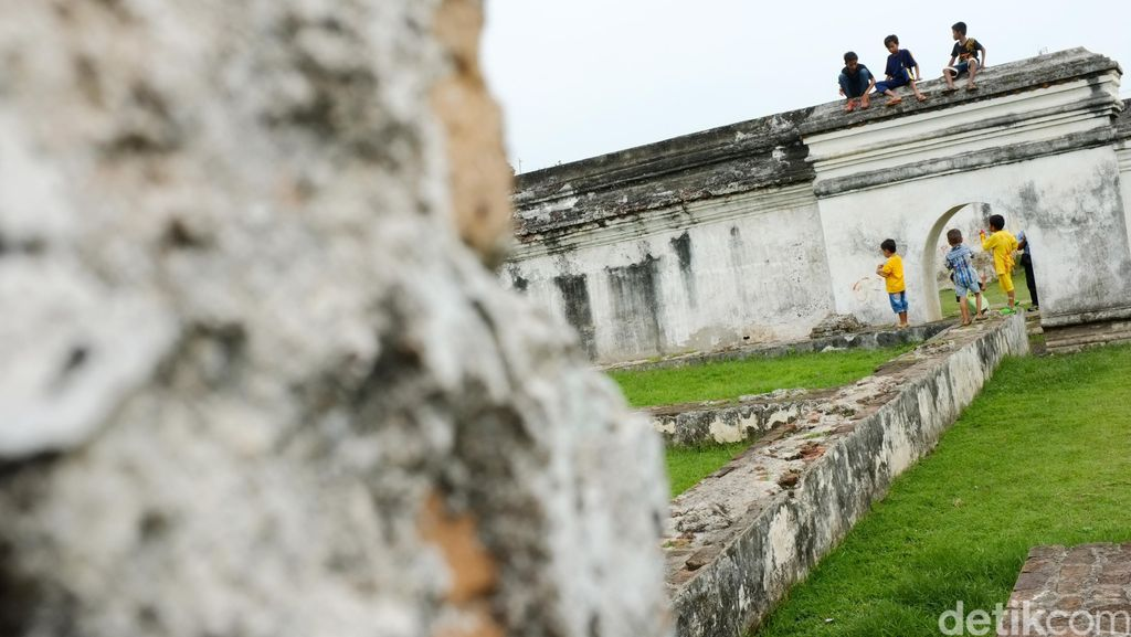 Reruntuhan Istana Keraton Kaibon Kasultanan Banten