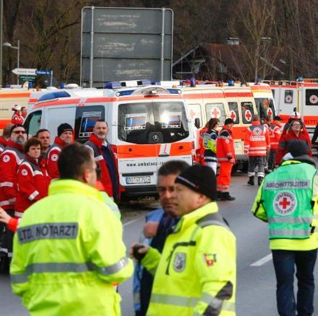Tabrakan 2 Kereta di Jerman, 4 Orang Dipastikan Tewas dan 150 Luka-luka