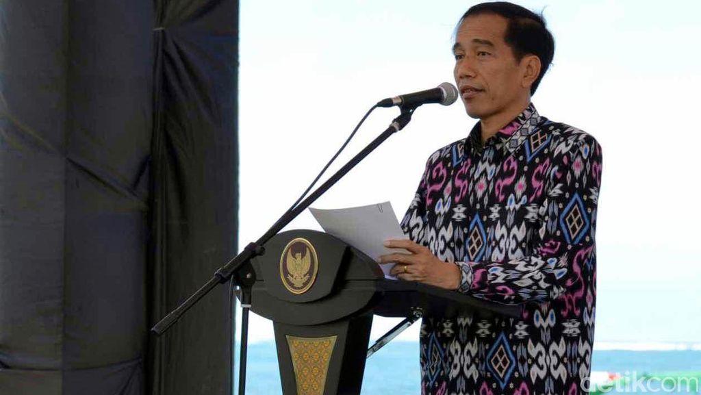 Pesan Jokowi untuk Peserta UN: Konsentrasi Belajar dan Berani Jujur
