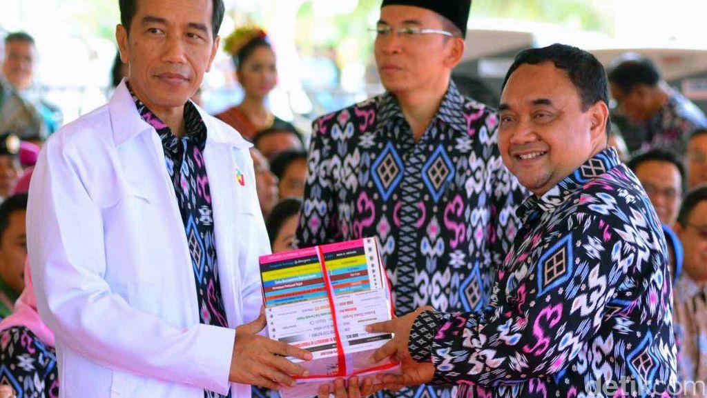 Disaksikan Presiden, PWI Teken MoU dengan Kementerian dan Perusahaan