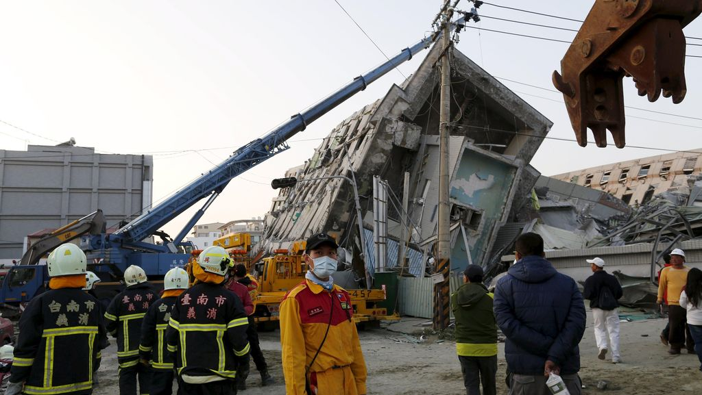 Selamat dari Gempa Taiwan, Wanita Ini Kehilangan Suami dan Bayinya
