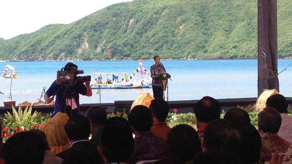 Di Depan Jokowi, Gubernur NTB Pamer Pencapaian Wilayahnya