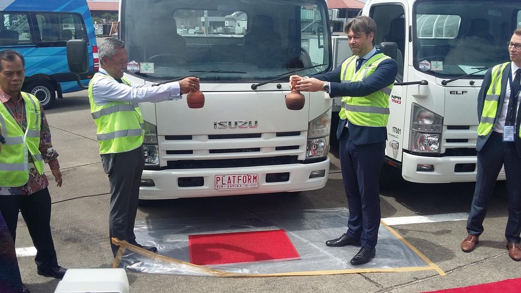 Gapura Pesan 600 Alat Baru GSE untuk Bandara Soekarno-Hatta