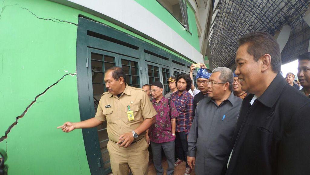Ridwan Kamil Targetkan Perbaikan Stadion GBLA Selesai Tiga Bulan