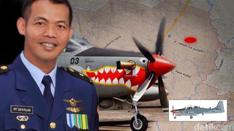 KSAU: Pilot Super Tucano Sempat Loncat