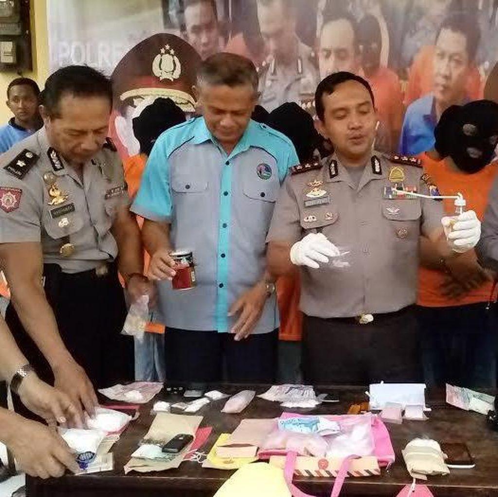 Jaringan Pengedar Narkoba di Mojokerto Dibongkar, 14 Orang Dicokok