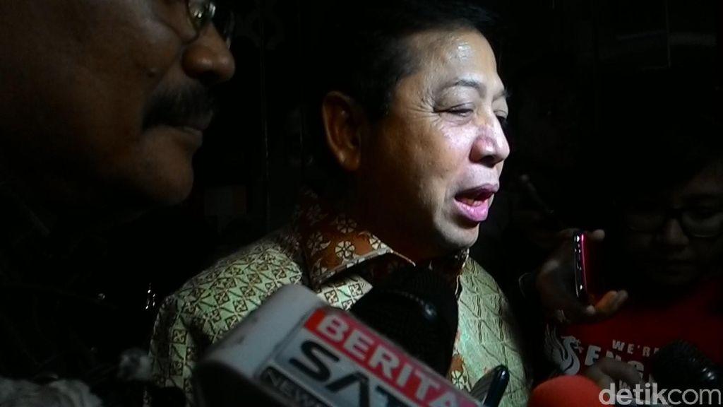 Novanto Gugat Pasal Pemufakatan Jahat ke Mahkamah Konstitusi
