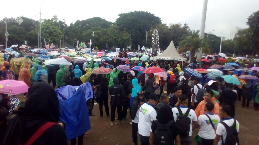 Kapolda Ingatkan Massa Tenaga Honorer: Batas Waktu Demo Sampai Pukul 18.00