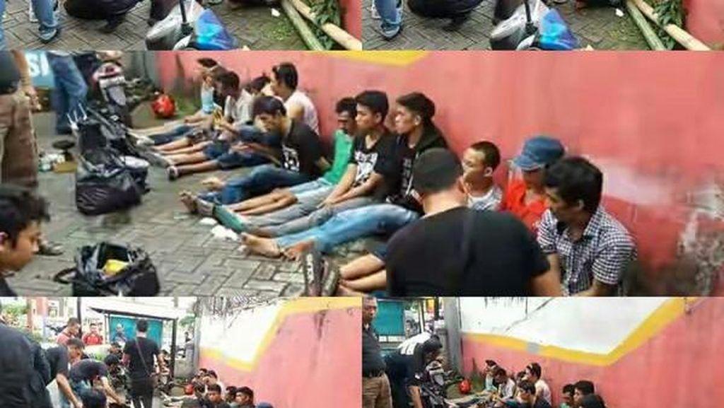 Polisi Gerebek Sarang Narkoba di Makassar, 12 Orang Diamankan