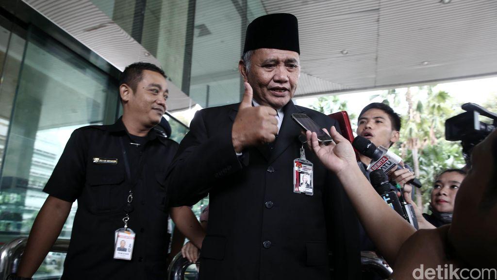 Dua Pimpinan KPK Sambangi Kantor Menko Polhukam
