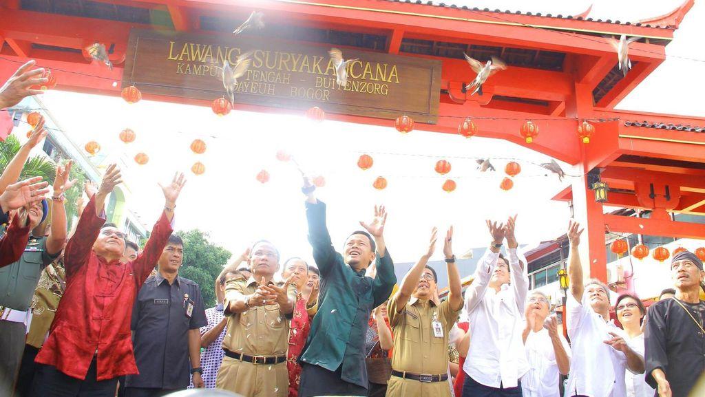 Bima Arya Resmikan Gerbang Lawang Suryakancana, Ikon Baru di Kota Bogor