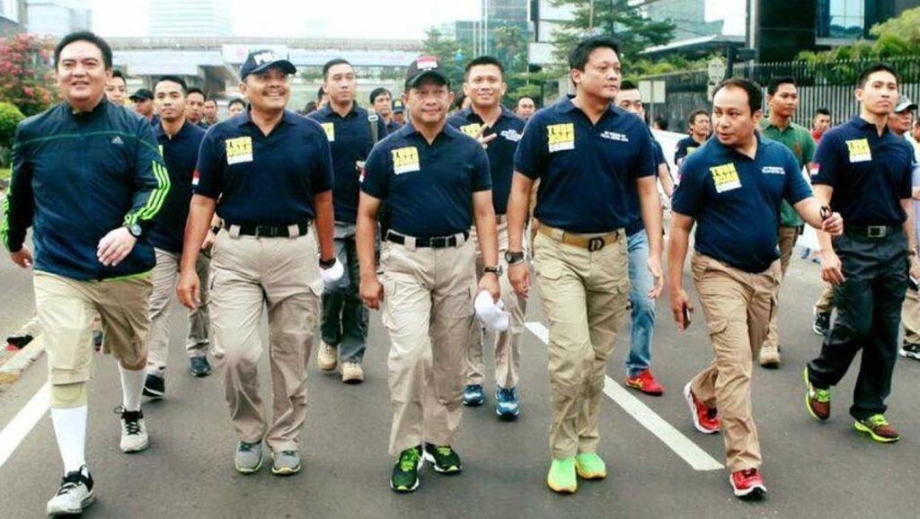 Polri: Kita Senang Banyak Masyarakat yang Pakai Kaos Turn Back Crime