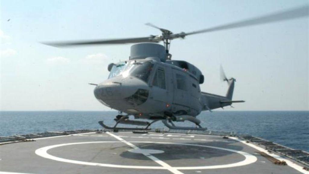 Helikopter Militer Yunani Jatuh, 3 Tentara Dikhawatirkan Tewas