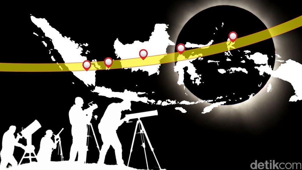 9 Lokasi Penelitian Gerhana Matahari Total 2016