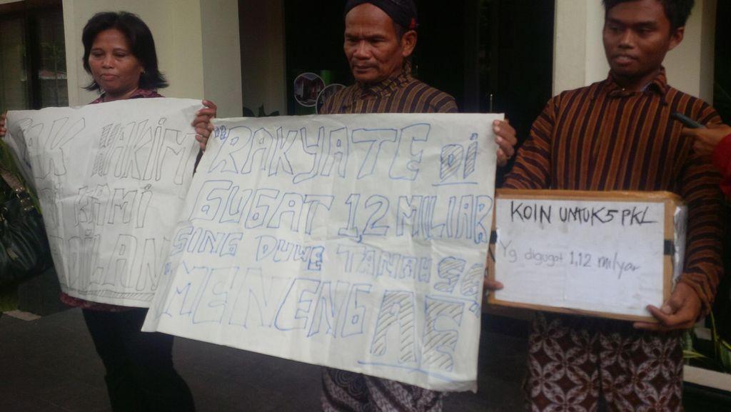 Diputuskan Bersalah dan Harus Pindah, 5 PKL di Yogya Akan Banding