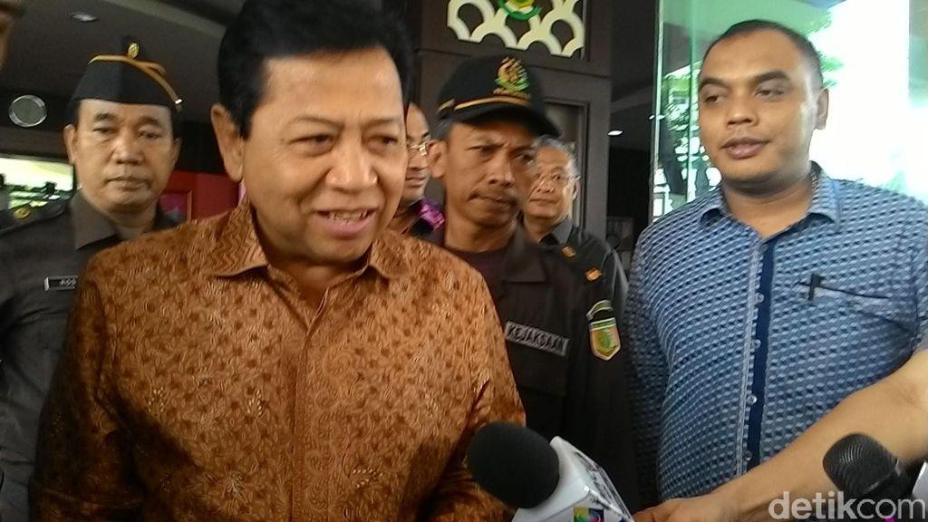 Usai Diperiksa Kejagung, Novanto: Semua Sudah Saya Sampaikan!