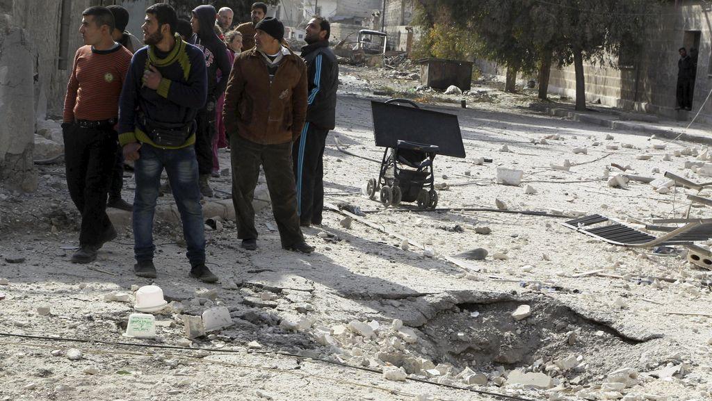 470 Ribu Orang Tewas Selama 5 Tahun Konflik Suriah