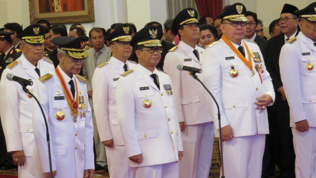 Jokowi: Saya Ingatkan Gubernur Harus Jalankan Visi dan Misi Presiden
