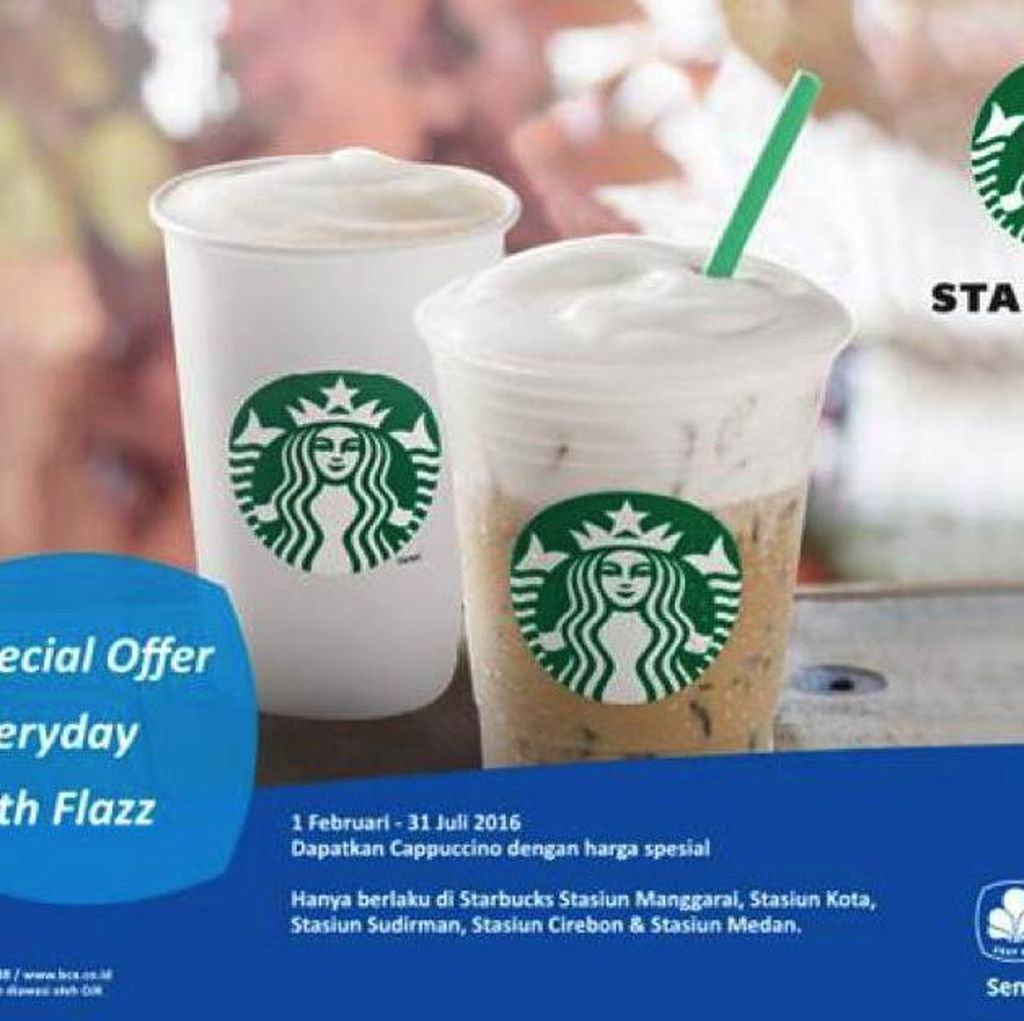 Special Offer di Starbucks Coffee