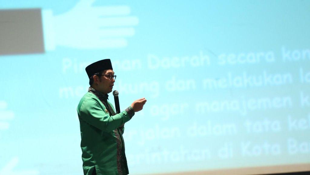 Ridwan Kamil Berbagi Kisah Soal Sukses SAKIP di depan Bupati dan Wali Kota