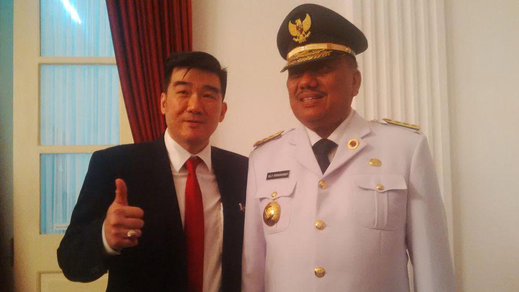 Jabat Gubernur Sulut, Politisi PDIP Olly Dondokambey Siap Diawasi KPK
