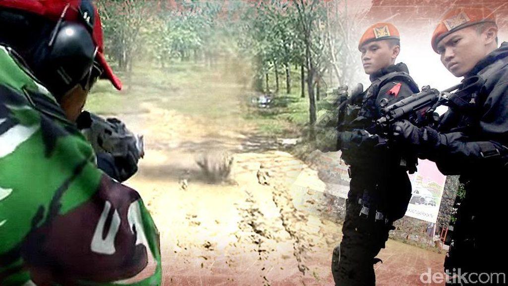 Cerita Mendebarkan Prajurit Paskhas Diberondong Peluru Tajam Saat Dopper