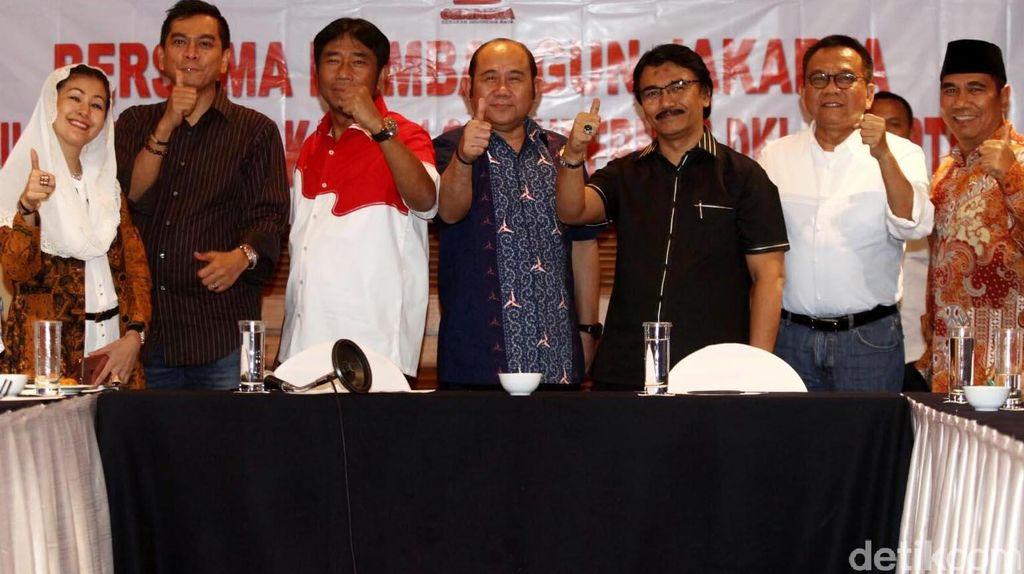 Kumpulkan Penantang Ahok, Gerindra: Ini Bukan Gerakan Anti Ahok
