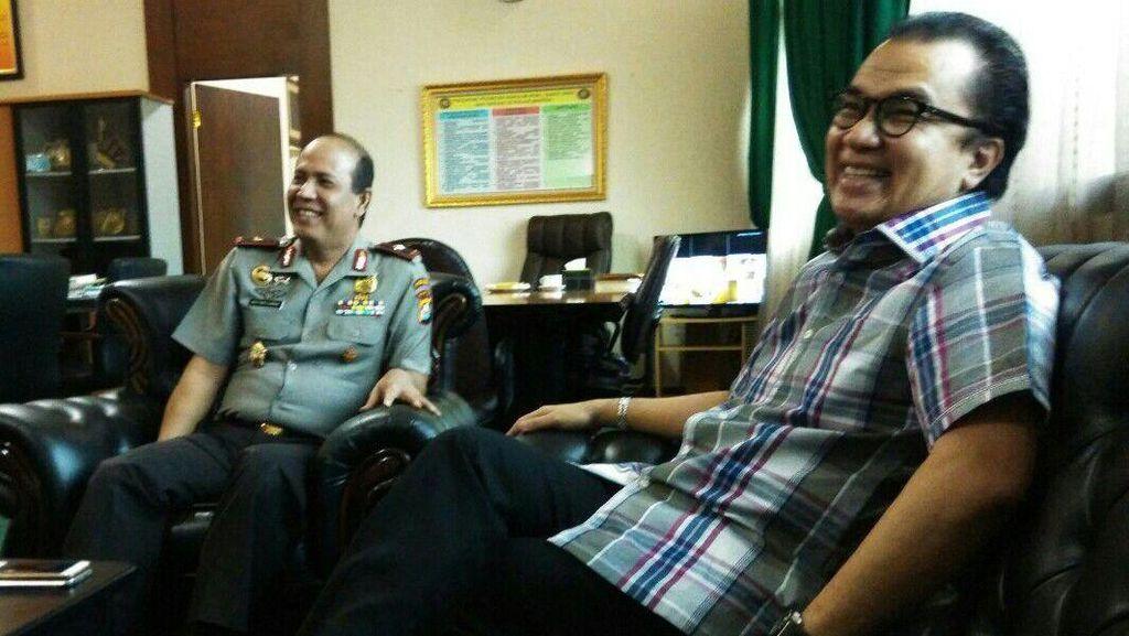 Gerilya di Banten, Tantowi Sowan Kapolda Banten Brigjen Boy Rafli