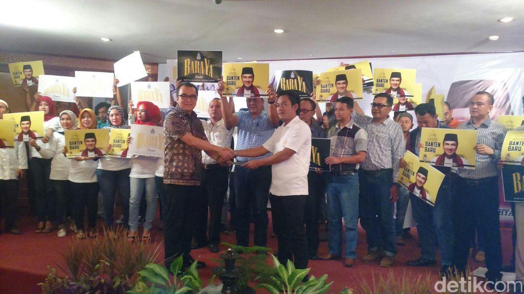 Ratusan Pemuda Deklarasi Dukung Tantowi Yahya di Pilgub Banten 2017