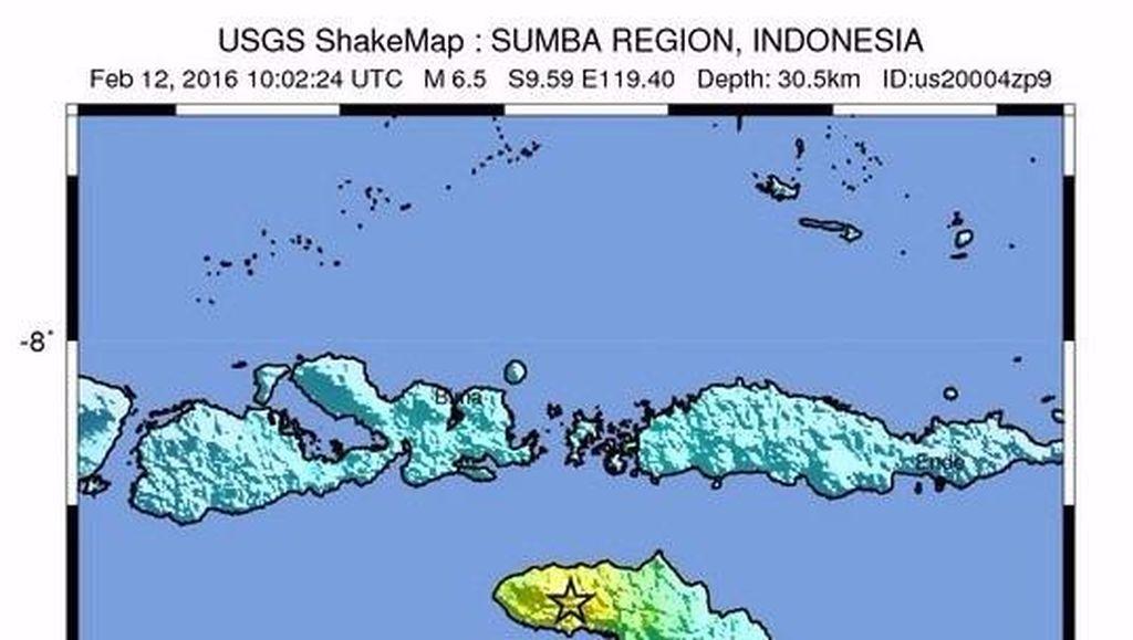 Sekolah Hingga RS di Sumba Barat Rusak Akibat Gempa 6,6 SR