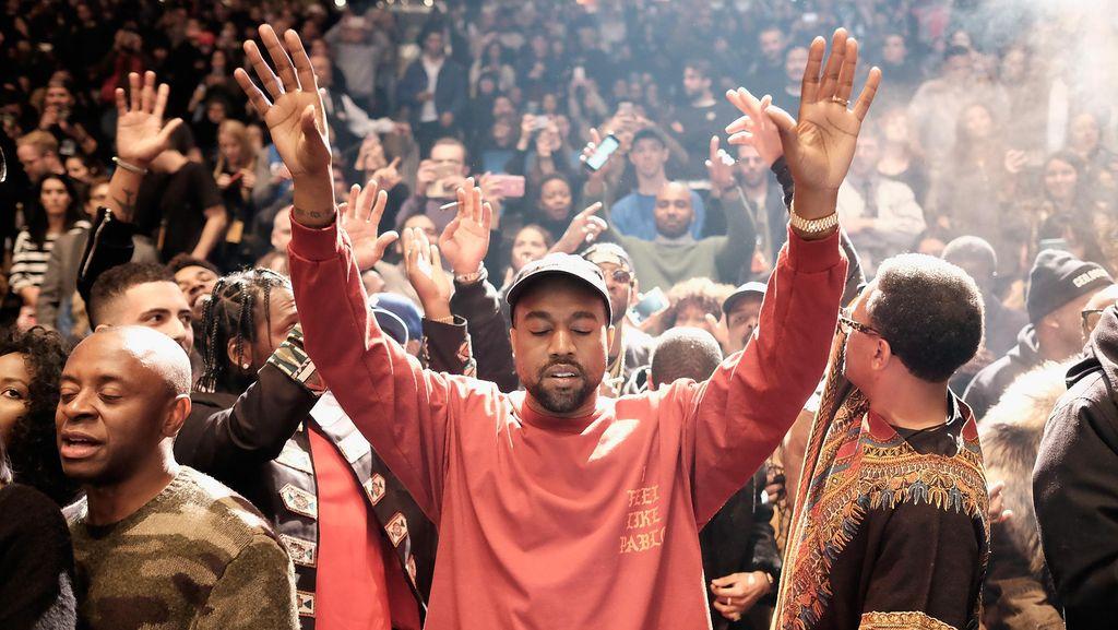 Kata Kanye West Soal Drama Kim Kardashian vs Taylor Swift