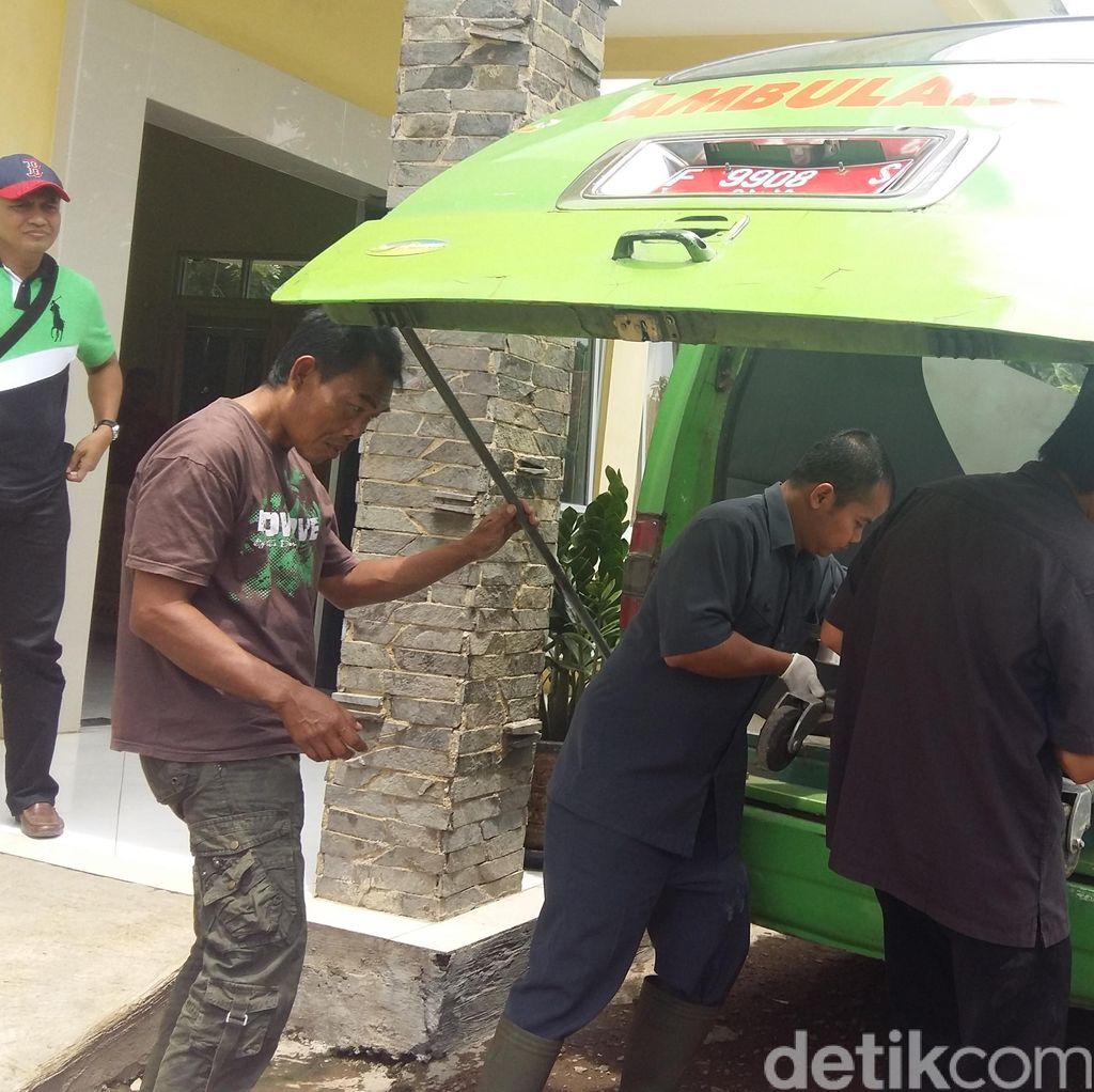 Pelaku Curanmor Tabrak Polisi di Sukabumi Hingga Patah Kaki