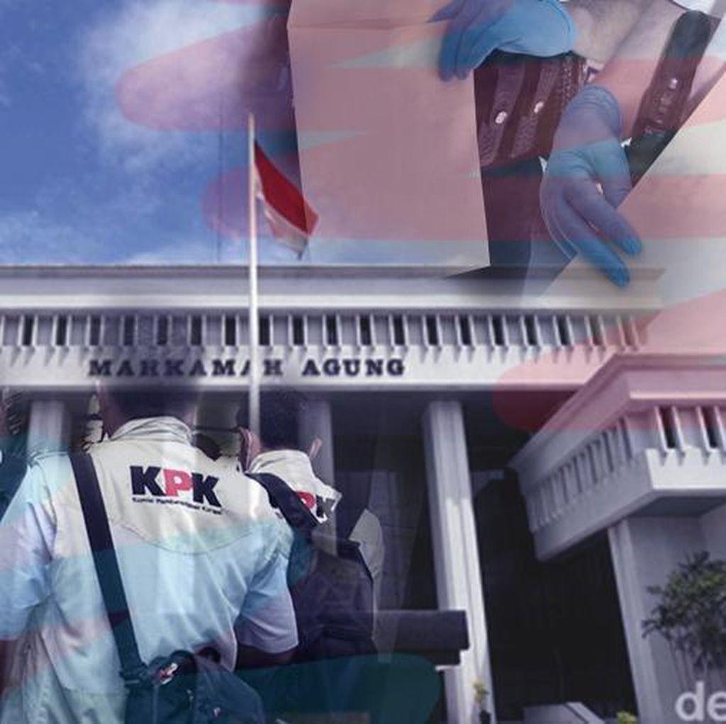 KPK Tetapkan Pejabat MA, Pengacara, dan Pengusaha Tersangka Suap